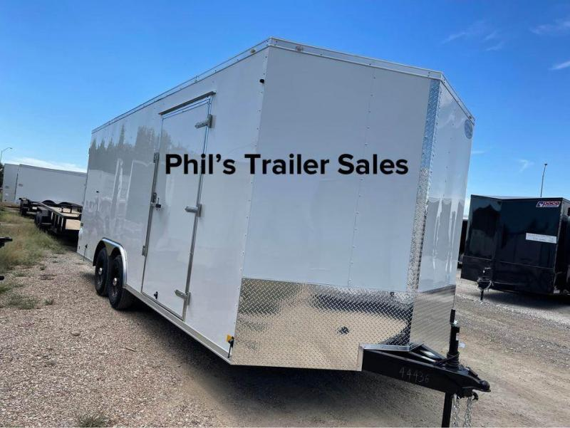 8.5X16 Continental Cargo Double door Enclosed Cargo Trailer