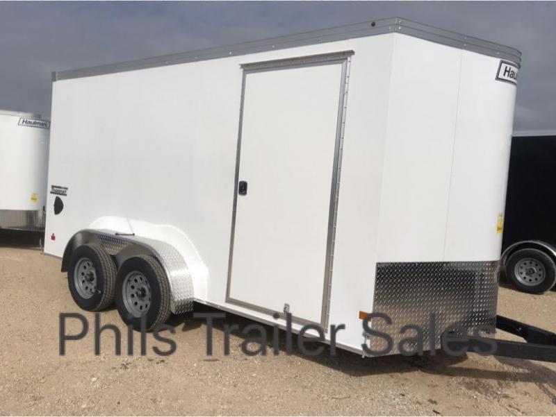 7x16TA Haulmark TRANSPORT 7 ft interior   SCREWLESS  Cargo / Enclosed Trailer