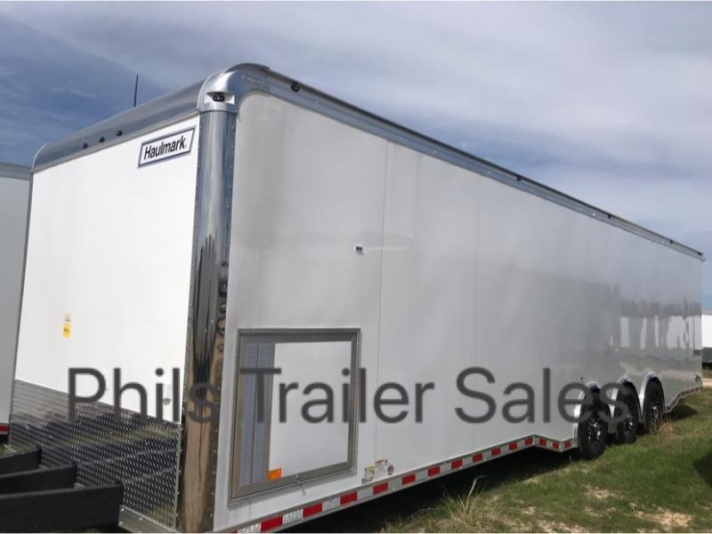 34' DRAGSTER LIFT  Haulmark race trailer EDGE PRO Car / Race Trailer Enclosed Trailer