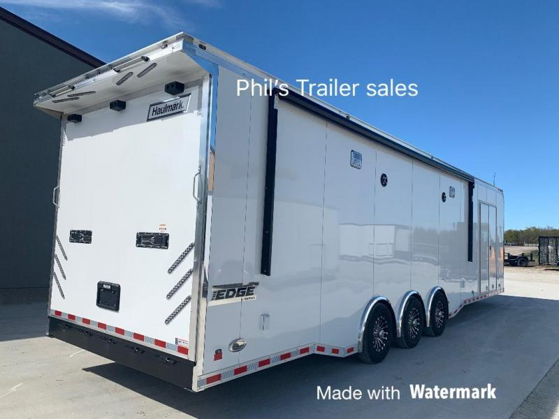 34' DRAGSTER LIFT  Haulmark race trailer EDGE PRO Car / Race Trailer Enclosed Trailer
