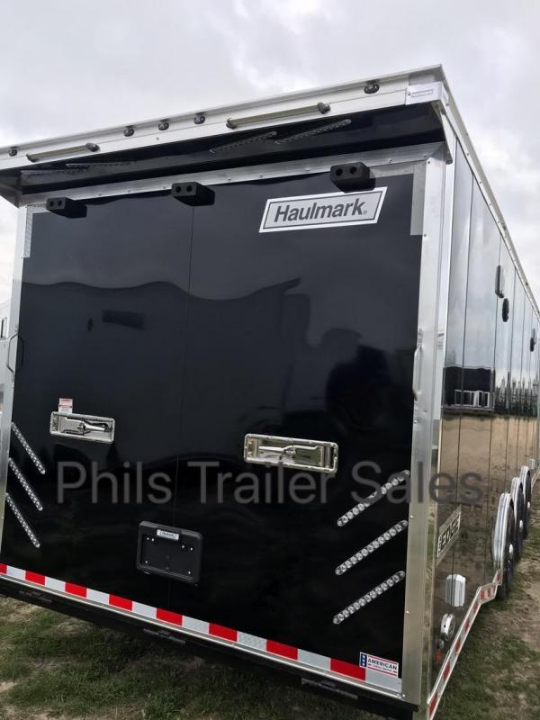 30 Haulmark EDGE PRO Car / Racing Trailer LOADED
