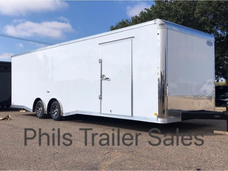 28' COMMERCIAL GRADE Continental Cargo NOS Car / Racing Trailer