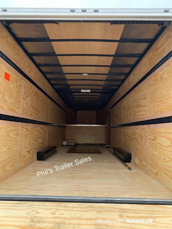 2021 Continental Cargo 32' GOOSENECK Enclosed Cargo Trailer