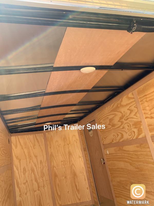 Enclosed Trailer 6x12+ v nose 6'6 cargo trailers