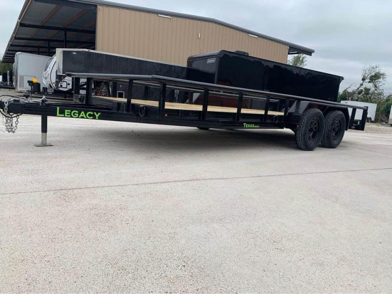 2021 Legacy UTILITY TRAILER 83X18 CHANNEL FRAME LOADED Utility Trailer