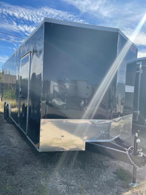 Pace American 8.5 x 20 + V nose 7 ft  CAR HAULER Cargo / Enclosed Trailer