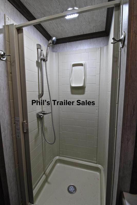 Sundowner Trailers LIVING QUARTERS Restroom / Shower Trailer