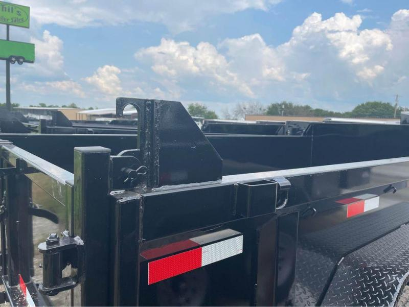 2021 Diamond T Trailers 14 DUMP TRAILER LOW PRO WITH HYDRAULIC JACK Dump Trailer