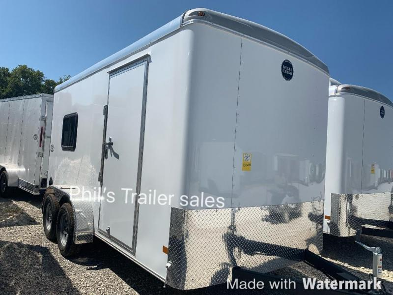 Wells Cargo 7X14 OFFICE TRAILER job site Enclosed Cargo Trailer