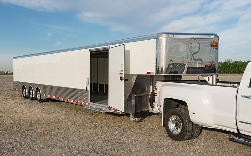 48 FT Sundowner Trailers XTRA TRANSPORTER GOOSENECK Enclosed Cargo Trailer