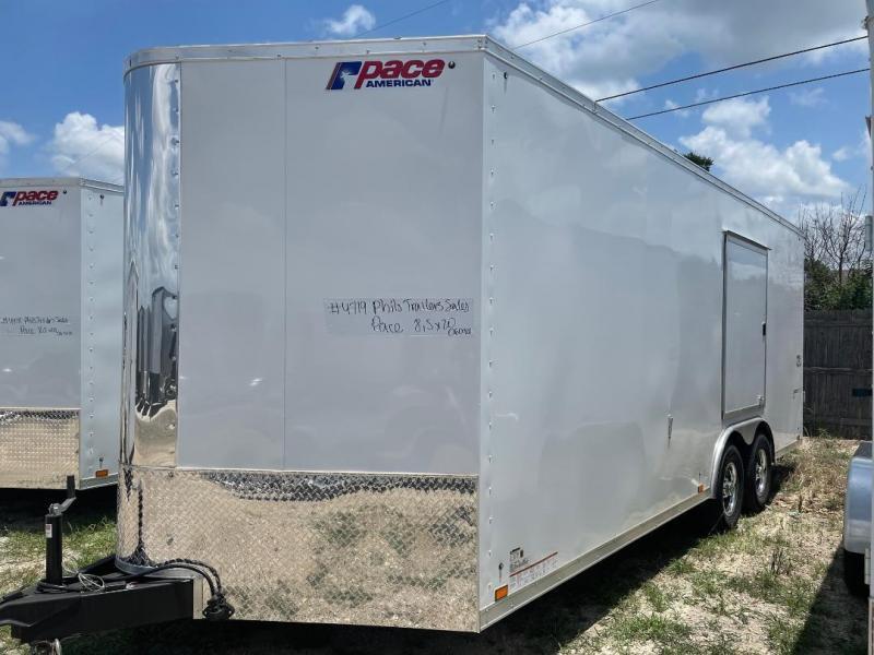 Pace American 8.5X20 7' ESCAPE DOOR  CARGO COMMERCIAL  Enclosed Cargo Trailer