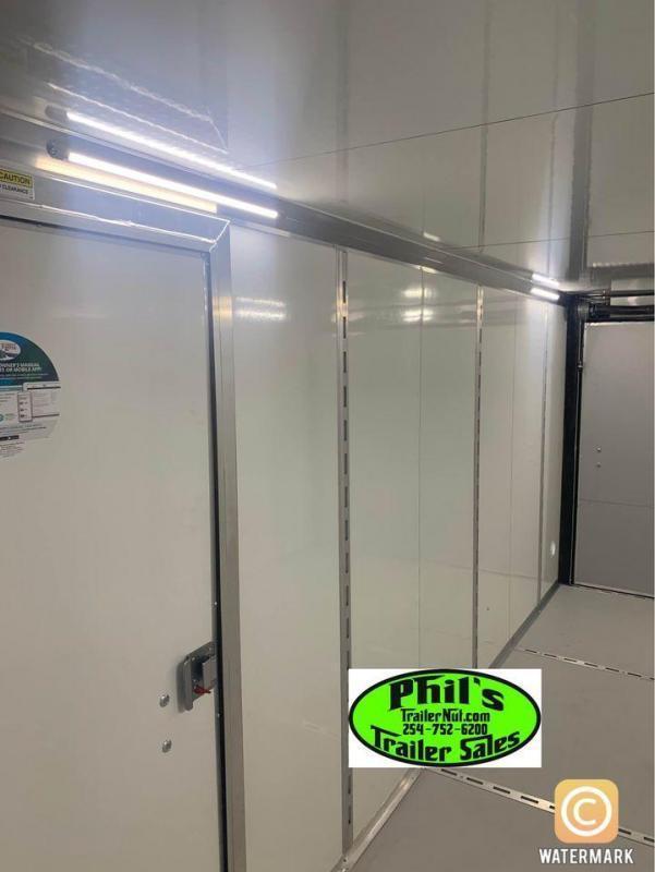 2022  7x14 10 YEAR 7'   DOUBLE DOORS  5200 LB AXLES 7 FT INTERIOR  STEEL MOD Enclosed Cargo Trailer 7X14
