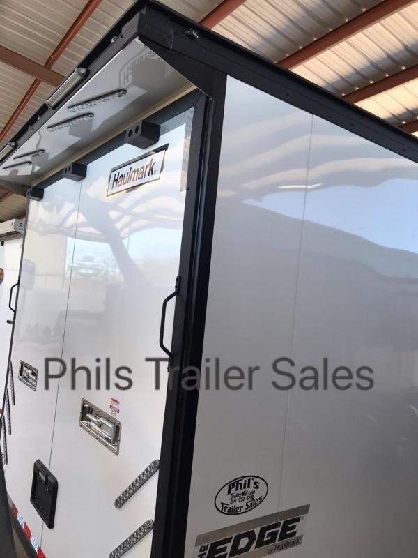 30  BLACK TRIM Haulmark EDGE PRO Car / Racing Trailer LOADED
