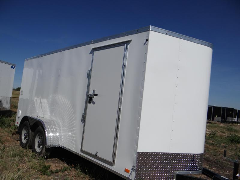 7x16 Continental Cargo 6'6 Enclosed trailer