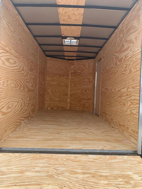 "7x12 2 v nose 6'6"" interior Enclosed Cargo Trailer"