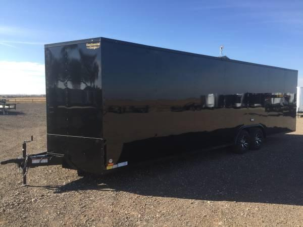 24 Continental Cargo BLACK OUT Car / Racing Trailer