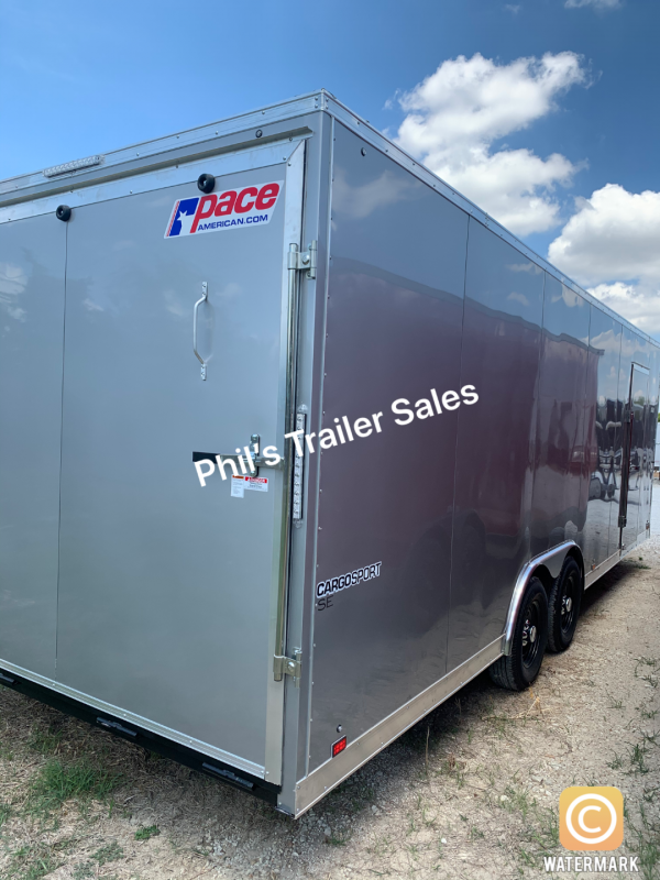 Pace American 8.5X20 7'  CARGO COMMERCIAL  Enclosed Cargo Trailer
