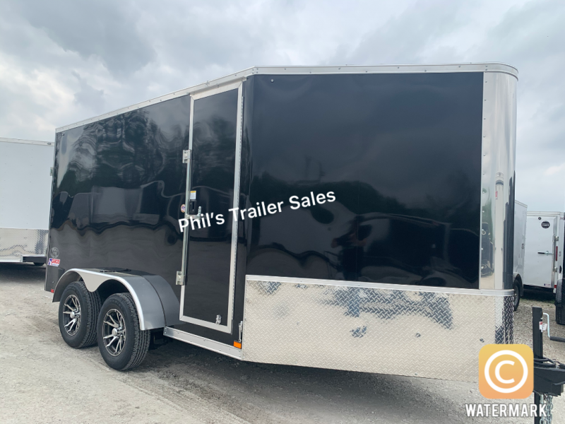 7X17  Pace American Pace Enclosed Cargo Trailer MOTORCYCLE TRAILER ATV