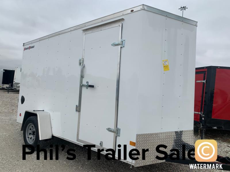 "2021 Wells Cargo 6X12 6'6"" FAST TRACK Enclosed Cargo Trailer"