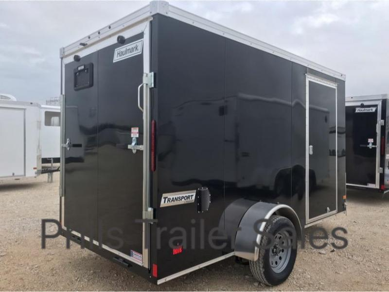 6X12 Haulmark SCREWLESS  TRANSPORT Enclosed Cargo Trailer