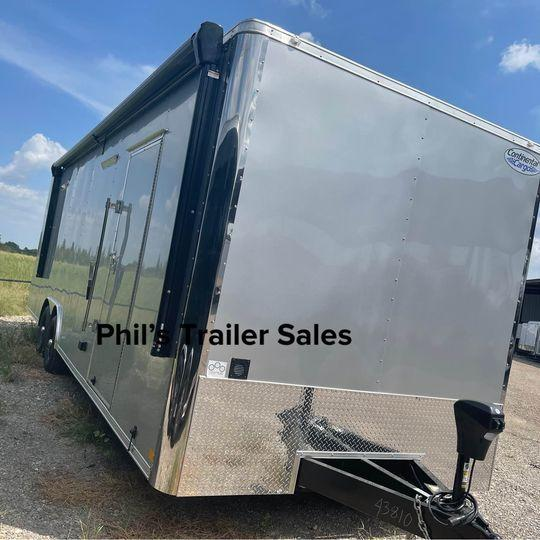 2022 Continental Cargo 26' ENCLOSED TRAILER AWNING AC'S Car / Racing Trailer