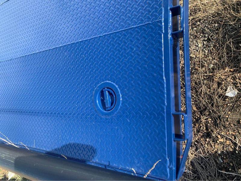 CAR HAULER BLUE  STEEL FLOOR 83X20 CAR HAULER