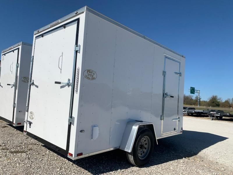 2021 Prime Trailer Manufacturing ENCLOSD TRAILER 6X12 6' 7 WITH UPGRADES Enclosed Cargo Trailer