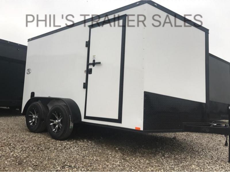 7x12  Screwless Cargo / Enclosed Trailer