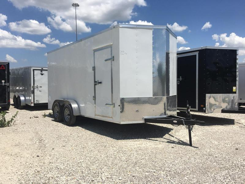 "Texas Select 7x16 + 2 v 6'6"" Enclosed trailer Cargo / Enclosed Trailer"