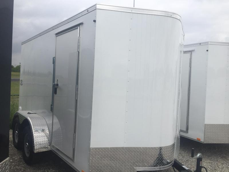 6x12 tandem 7 interior Continental Cargo Enclosed trailer* cargo Cargo / Enclosed Trailer