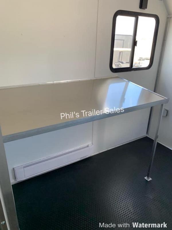 2021 Haulmark 24' HAUL;MARK JOBSITE OFFICE ENCLOSED TRAILER Enclosed Cargo Trailer
