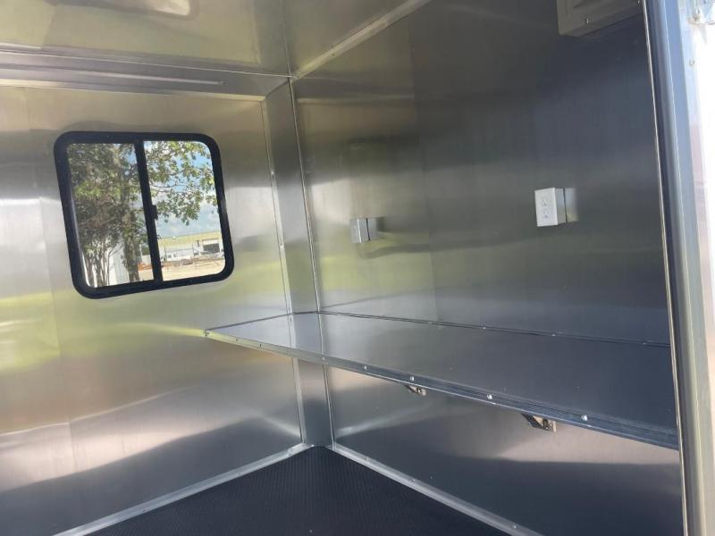 Texas Select 20 OFFICE TRAILER JOB SITE  ENCLOSED TRAILER Enclosed Cargo Trailer