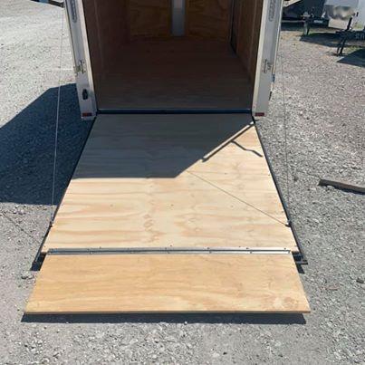 "UPGRADED 7x12 + 2 v 6'8"" Enclosed trailer Cargo / Enclosed Trailer"