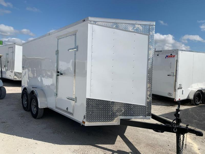 "UPGRADED 7x12 + 2 v 6'8"" Enclosed trailer Cargo / Enclosed Trailer"