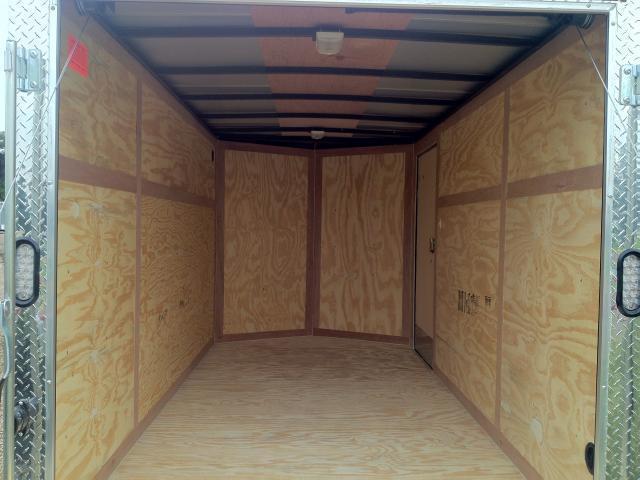 "2021 6x12+ v nose 6'6"" Continental Cargo Value Hauler Wedge 6x12 Ramp"