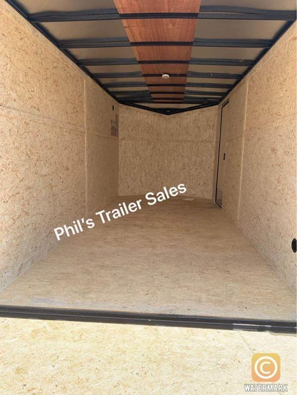 6X12 + 2 v nose  Pace Blackout Cargo / Enclosed Trailer