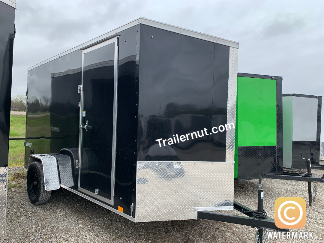 ENCLOSED TRAILER 6X12 + 2 v nose  Pace  Cargo / Enclosed Trailer