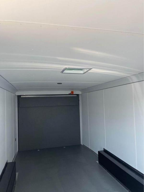 8.5 X24  Pace American TORSION SPREAD  AXLES Enclosed Cargo Trailer