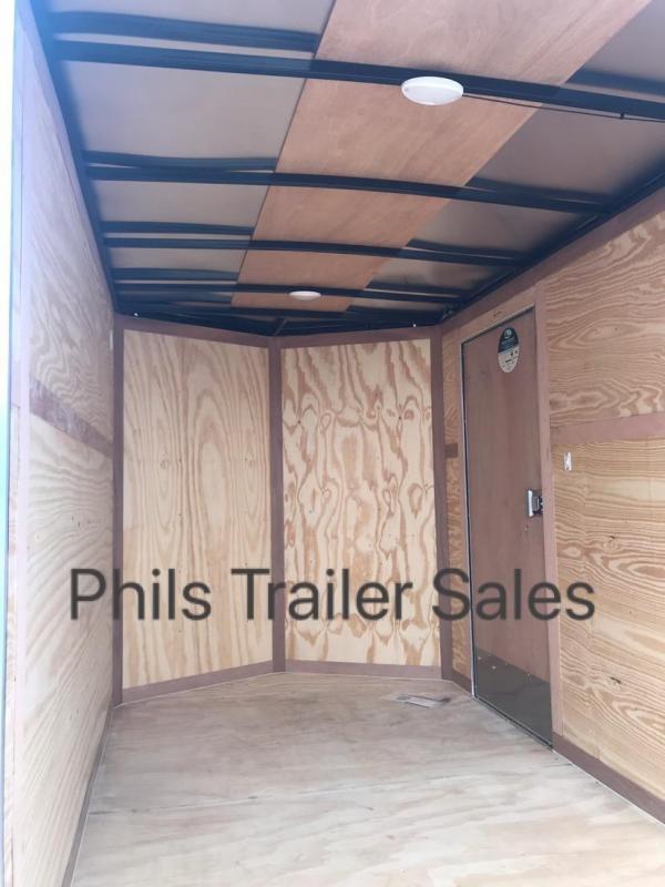 2021 Continental Cargo 6X12  DOVE GRAY Enclosed Cargo Trailer