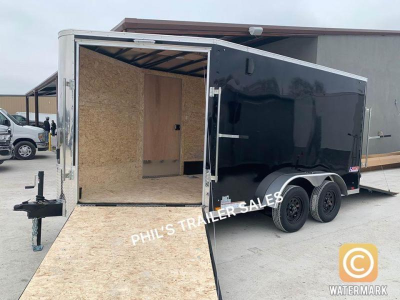 2021 7X17  Pace American Pace Enclosed Cargo Trailer MOTORCYCLE TRAILER ATV