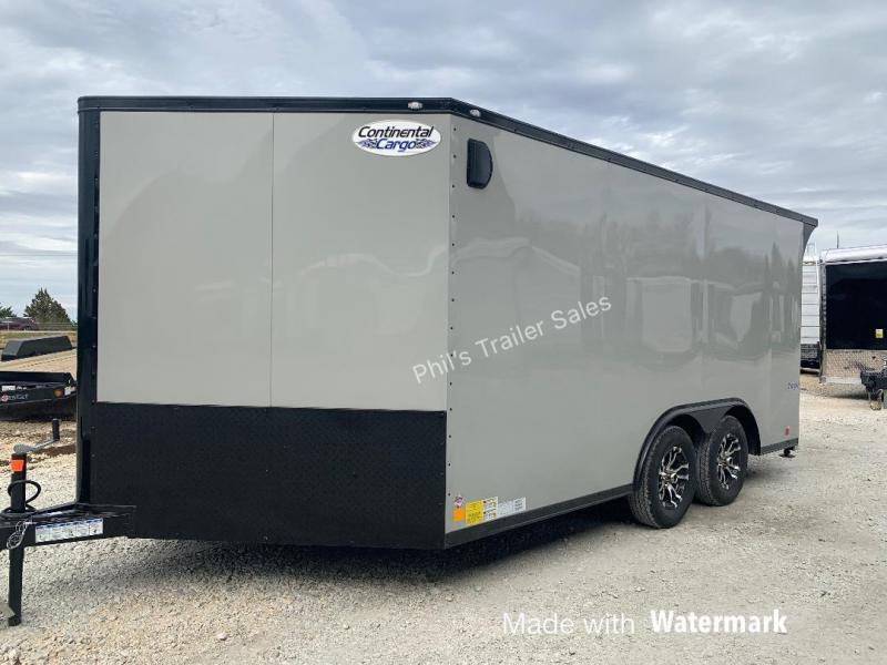MOTORCYCLE TRAILER 8.5x14+ 3 v DOVE  7 ft interior   BLACKED OUT trim ENCLOSED  Motorcycle Trailer