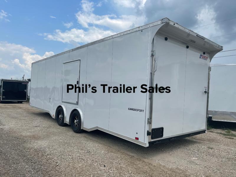 Pace American 8.5X24 7 ESCAPE DOOR '  CARGO COMMERCIAL  Enclosed Cargo Trailer