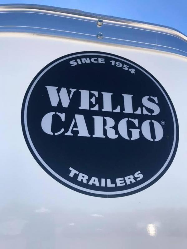 Wells Cargo 6X12 6'6 D SERIES  ENCLOSED TRAILER
