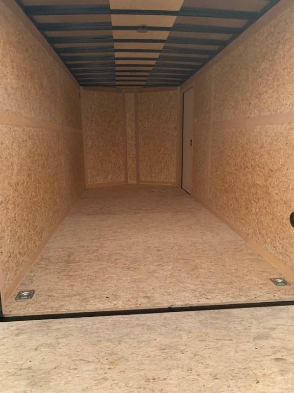 HAULMARK  7X12+  sLANT V  ENCLOSED TRAILER COMMERCIAL GRADE ROAD FORCE Enclosed Cargo Trailer
