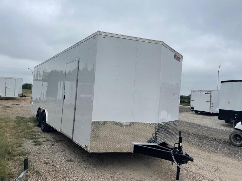 Pace American 8.5 x 24 + V nose 7 ft  CAR HAULER Cargo / Enclosed Trailer