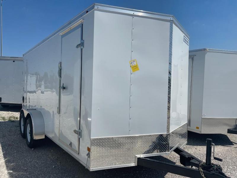 HAULMARK  7x12+2 v Enclosed trailer Cargo / Enclosed Trailer