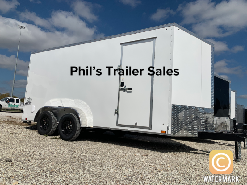 Pace American 7X16 SE 7 FT INTERIOR  Enclosed Cargo Trailer