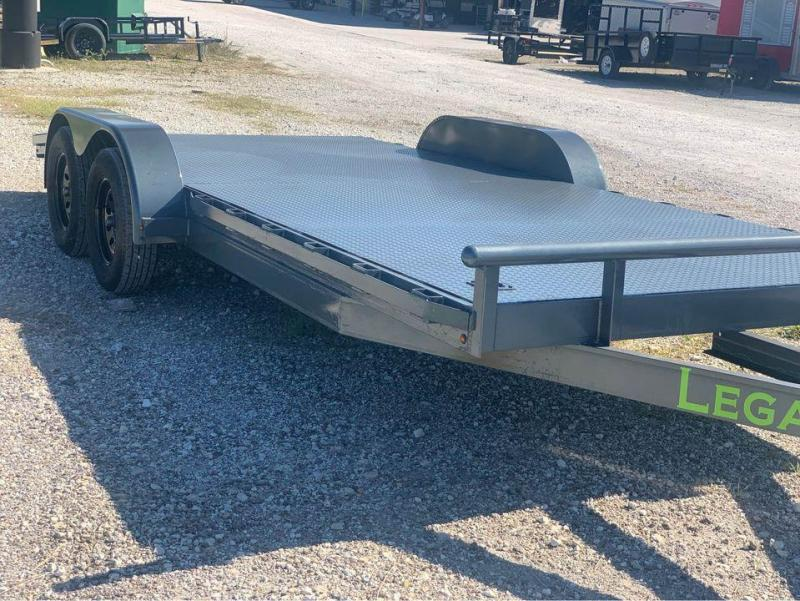 CAR HAULER STEEL FLOOR 83X20 CAR HAULER