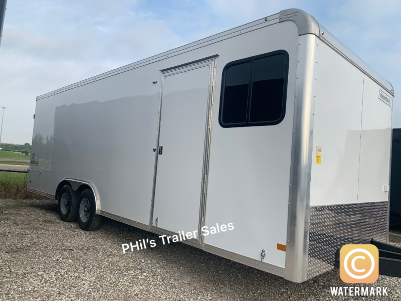 2021 Haulmark 24' HAUL;MARK JOBSITE OFFICE ENCLOSED TRAILER Enclosed Cargo Trailer