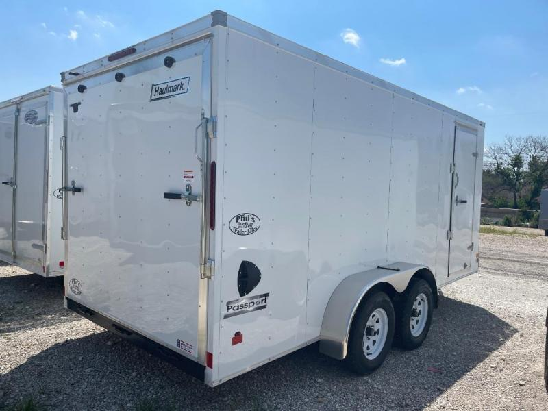 HAULMARK  7x14+2 v  7 FT INTERIOR  Enclosed trailer  Cargo / Enclosed Trailer